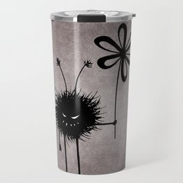 Evil Flower Bug Travel Mug