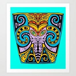 King Squid Art Print