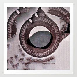 archeology of the future. Art Print