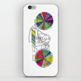 Rainbow Cycle iPhone Skin