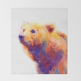 The Protective - Bear Throw Blanket