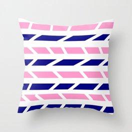 Mariniere marinière variation IX Throw Pillow