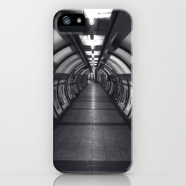 Embankment Underground Train Station, London iPhone Case