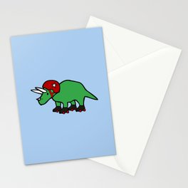 Roller Derby Triceratops Stationery Cards