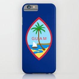 Flag of Guam iPhone Case