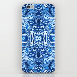 65 - Psychedelic Blues iPhone Skin