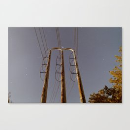 Power Tower Canvas Print