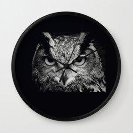 owl chouette 2 Wall Clock