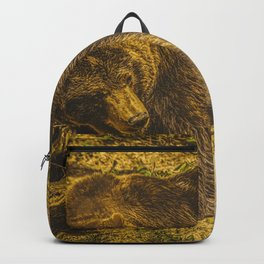 Strength & Wisdom (Painting) Backpack