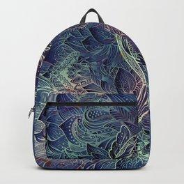 Purple Koi Fish Backpack