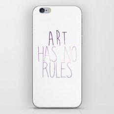 ART Rules2 iPhone & iPod Skin