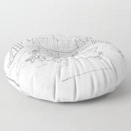 Korg MS-10 - exploded diagram Floor Pillow