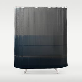 Gray Blue 02 Shower Curtain