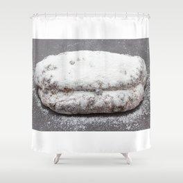 Christmas stollen Shower Curtain