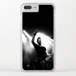 Tyler Connolly of Theory Of A Deadman Clear iPhone Case