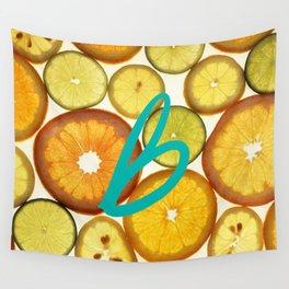 Citrus - Citron (Recettes du Bonheur) Wall Tapestry