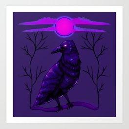 Rise of the Raven Art Print