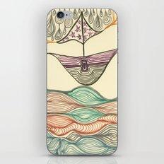 Hundertwasser's last voyage iPhone & iPod Skin