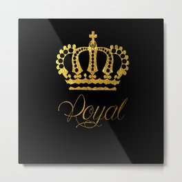 Crown Royal Metal Print