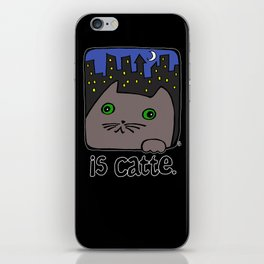 Is Catte iPhone Skin