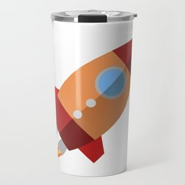 Rocket Ship Travel Mug