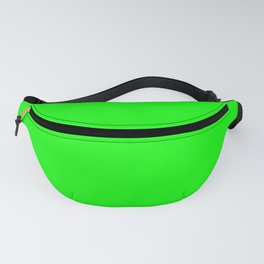 SOLID PLAIN UFO GREEN  WORLDWIDE TRENDING COLOR / COLOUR Fanny Pack