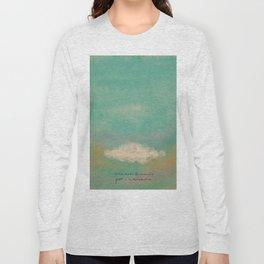 Nube para la melancolía Long Sleeve T-shirt