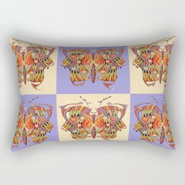 tribal butterfly  Rectangular Pillow