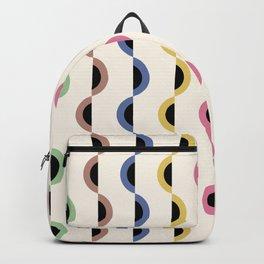 Gwynne Pattern - Retro Tones Backpack