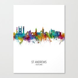St Andrews Scotland Skyline Canvas Print