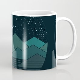 Between The Mountains And The Stars Coffee Mug