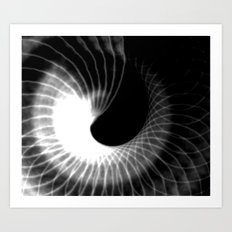 Spinning Shadows Art Print