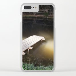 Crossing the Threshold between Life and Death Clear iPhone Case