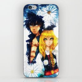 The Warrior and the girl iPhone Skin
