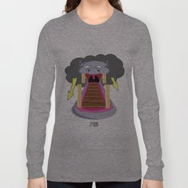 The Hippo's Not So Tempting Offer Long Sleeve T-shirt