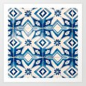 Blue Portugal Tiles #2 by carrielymanphoto
