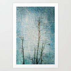 Minimalism ~ Perched Art Print