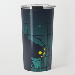 bioshock big daddy Travel Mug