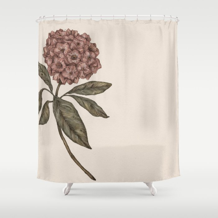 Mountain Laurel Shower Curtain By Jessicaroux