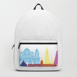 Chennai skyline pop Backpack
