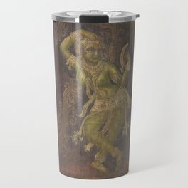 Darpana Sundari, India Sculpture - in Oil Travel Mug