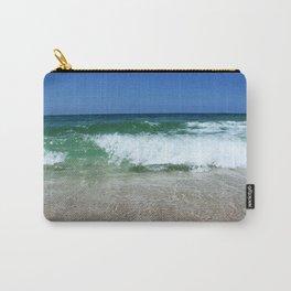An Ocean Wave Break Carry-All Pouch