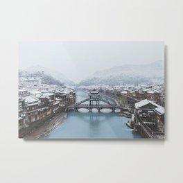 Fenghuang, China Metal Print