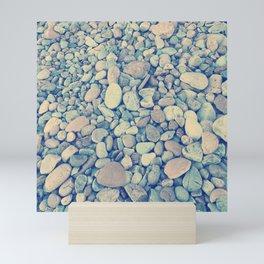 Pebble Texture Mini Art Print