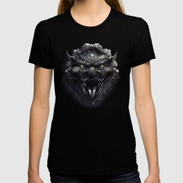 Foo Lion Dog Mask T-shirt