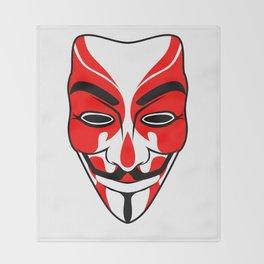 Kabuki Vendetta Throw Blanket
