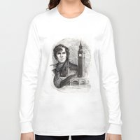 sherlock Long Sleeve T-shirts featuring Sherlock  by RileyStark
