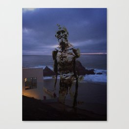 Rodin at Land's End Canvas Print