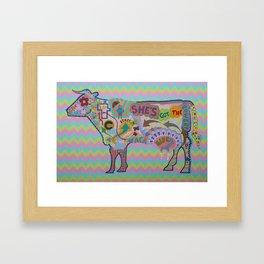 Vaca Framed Art Print