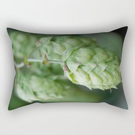 Humulus lupulus, the Common Hop Rectangular Pillow